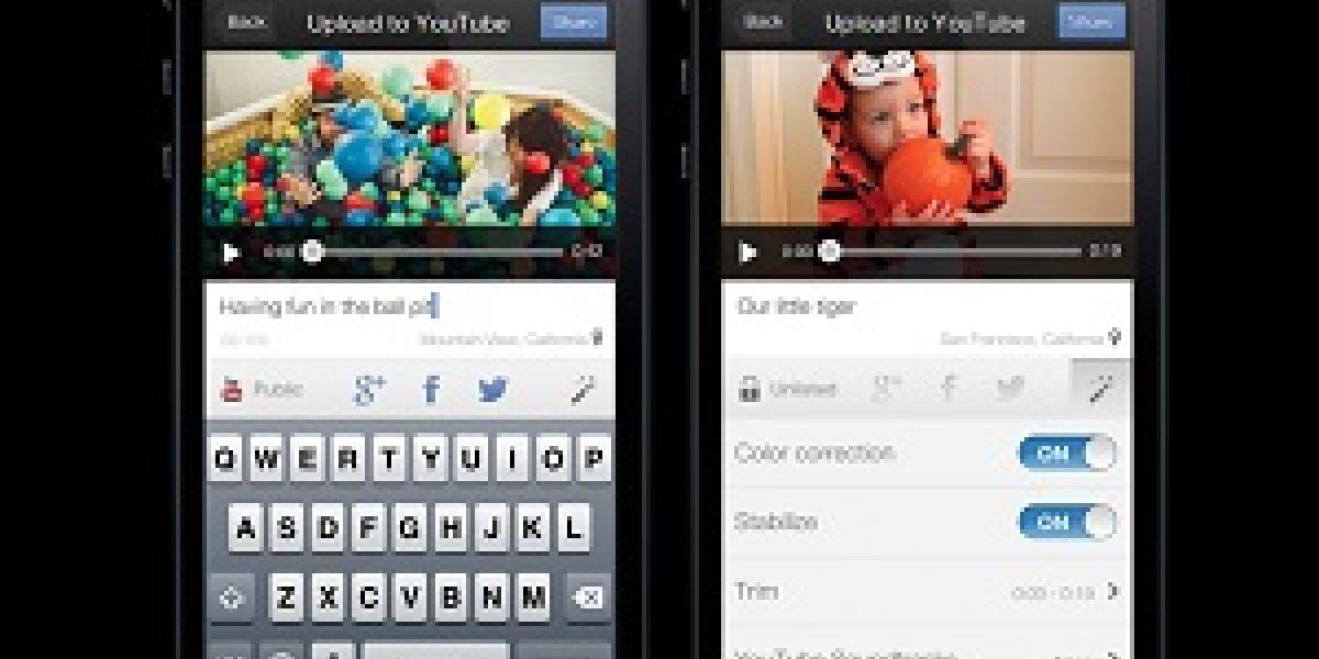 """Neue Youtube-App """"Capture"""""""