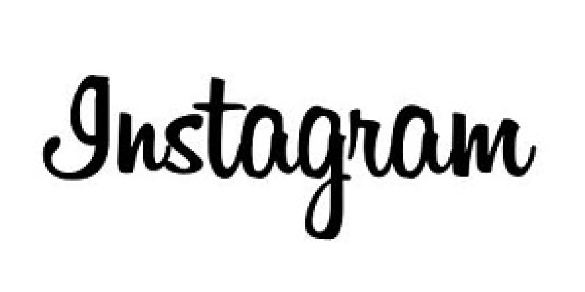 Instagram Schriftzug