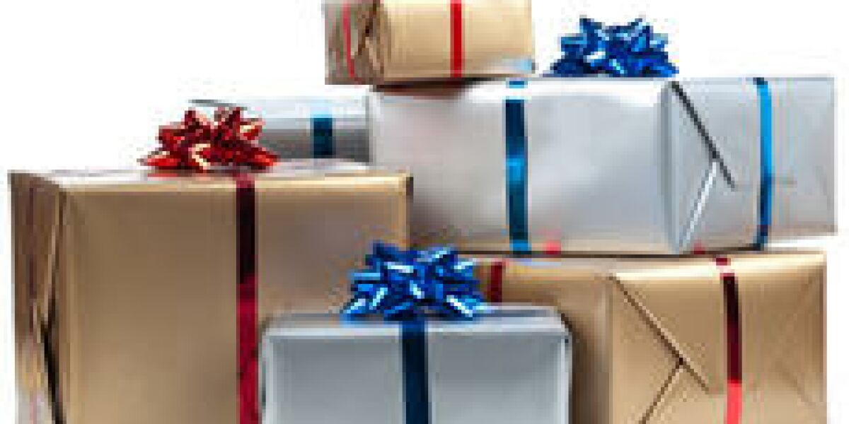 Einkaufsvolumen am ersten Weihnachtstag
