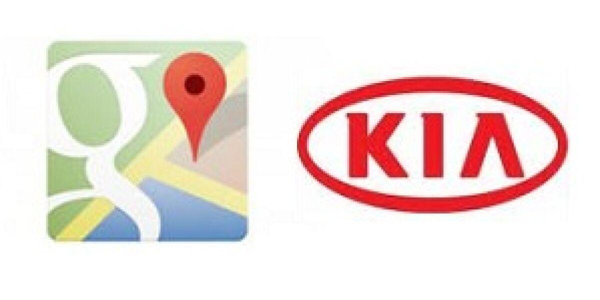 Google und Kia kooperieren