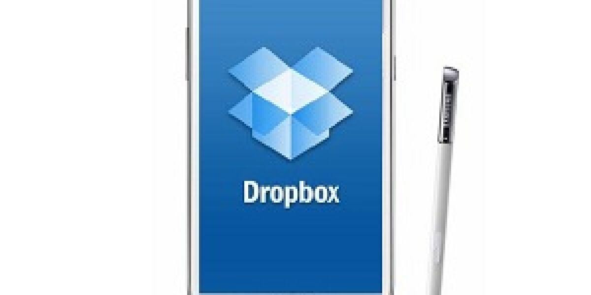 Samsung integriert Dropbox