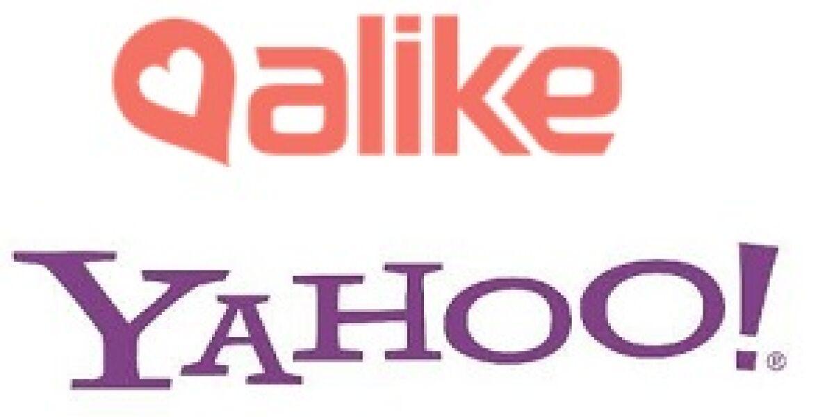 Yahoo kauft Alike