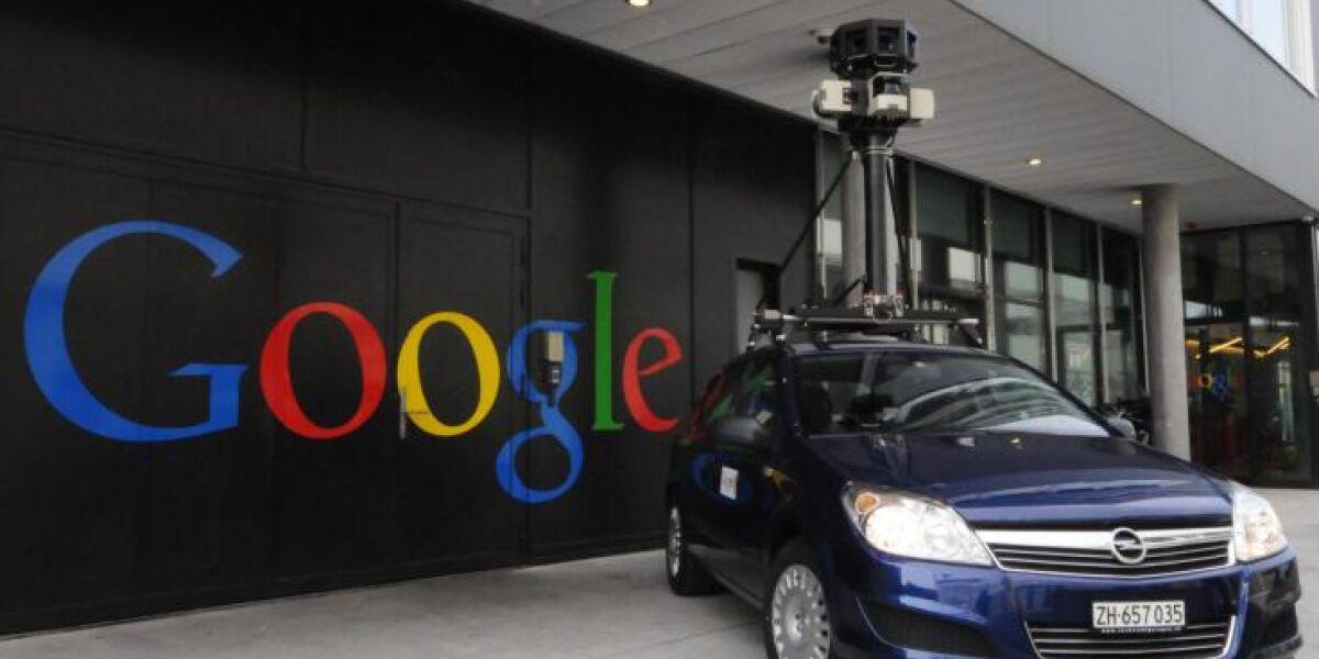 WLAN-Aufzeichnungen für Google Street View