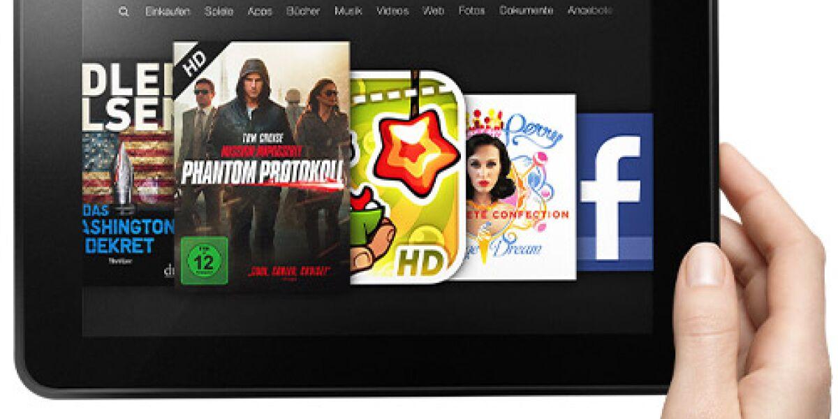 Amazon bringt große Version des Kindle Fire HD nach Deutschland