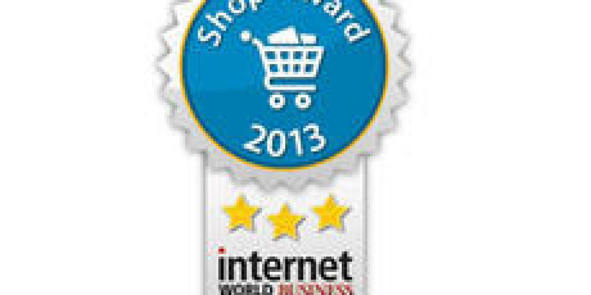 INTERNET WORLD Business Shop-Award 2013 - Die Gewinner stehen fest