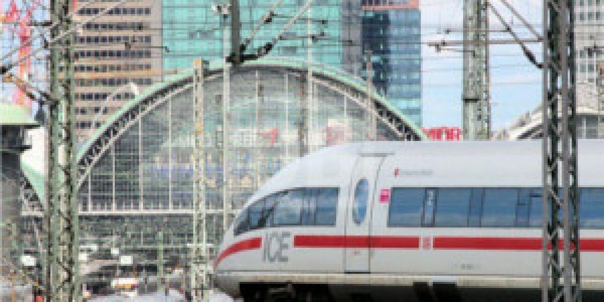 Deutsche Bahn will Internet und Unterhaltung im ICE ausbauen