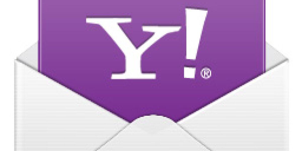 Yahoo Mail integriert Dropbox