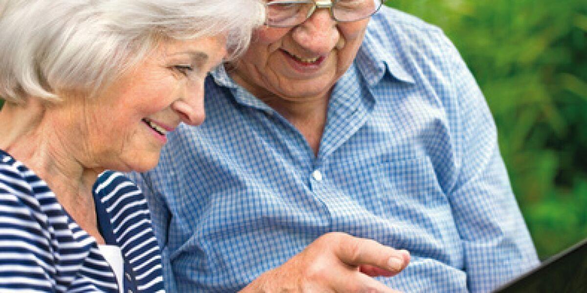 Online-Plattformen für Ältere