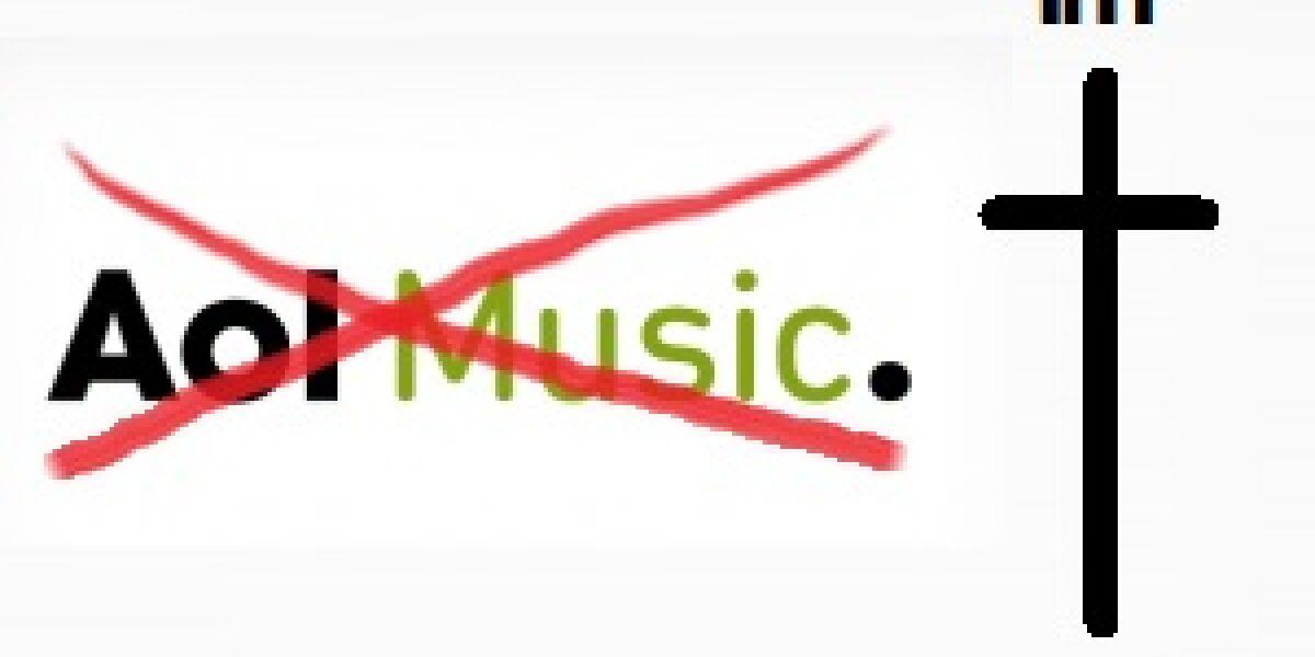 Aus für AOL Music