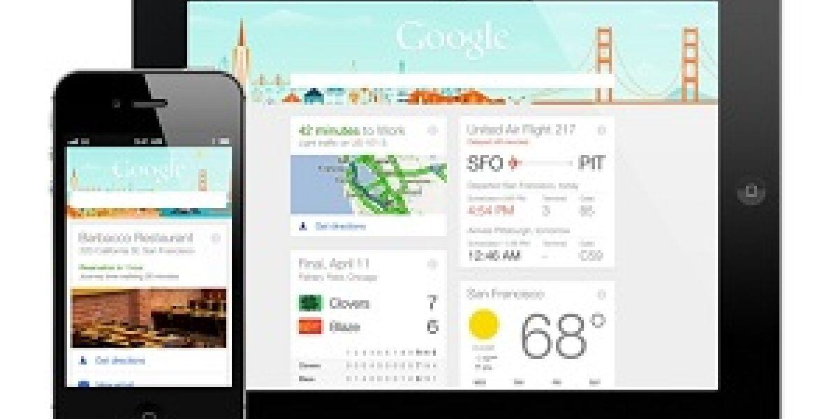 Google Now kommt auf iPad und iPhone