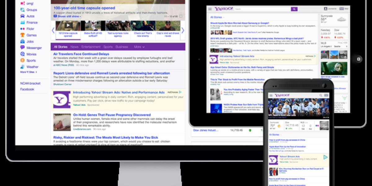 Yahoos neues Werbeformat