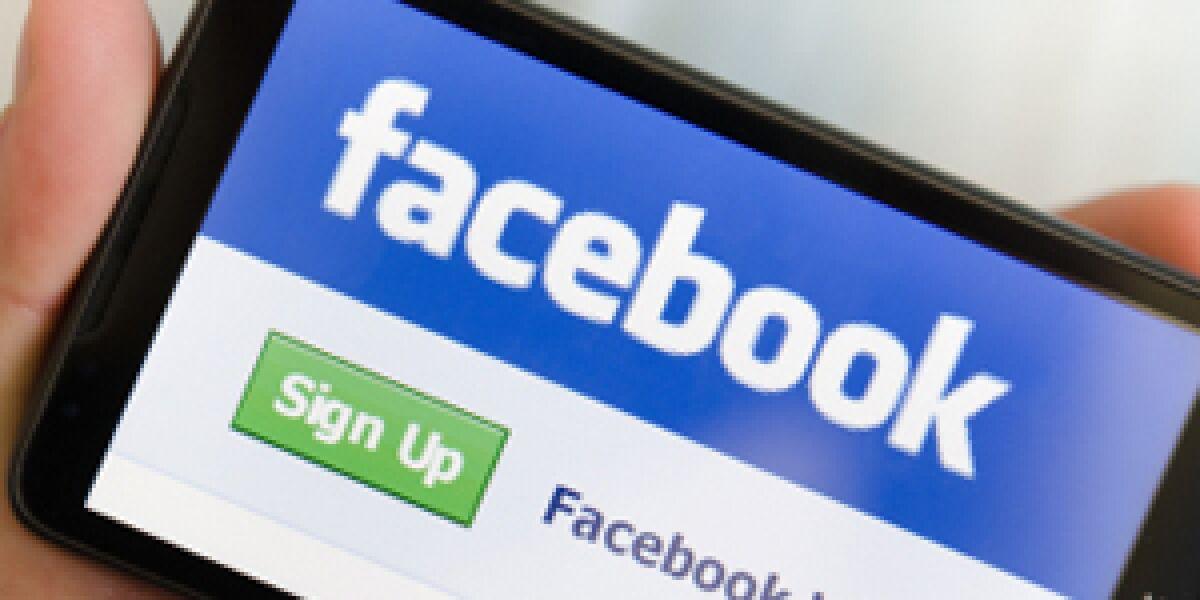 Quartalsbilanz bei Facebook