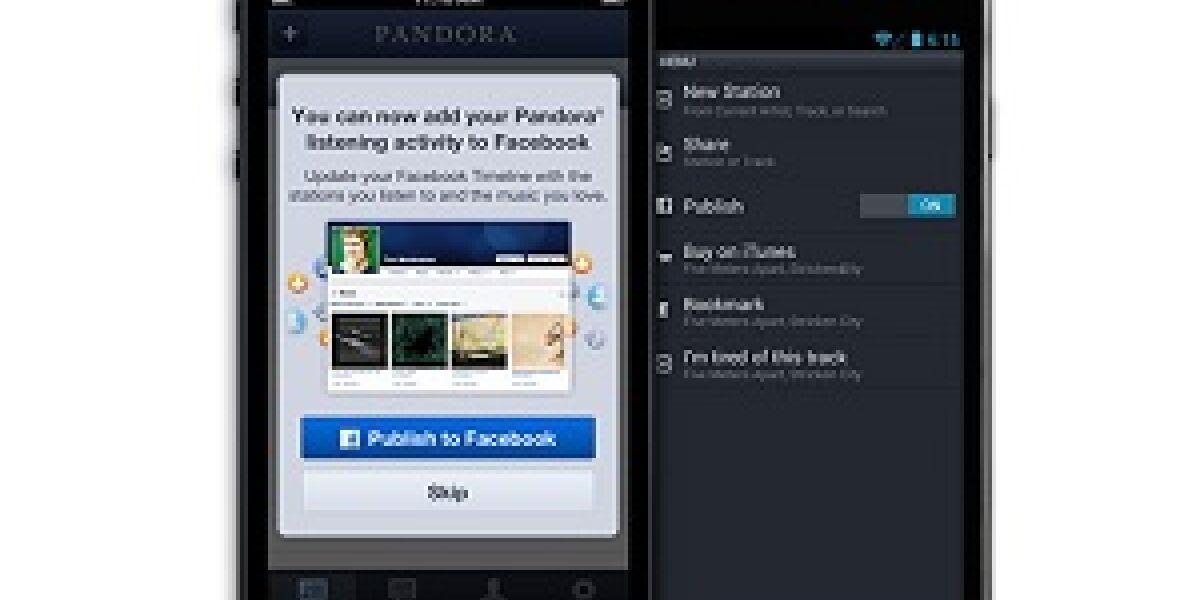 Ausbau der Pandora-Facebook-Partnerschaft