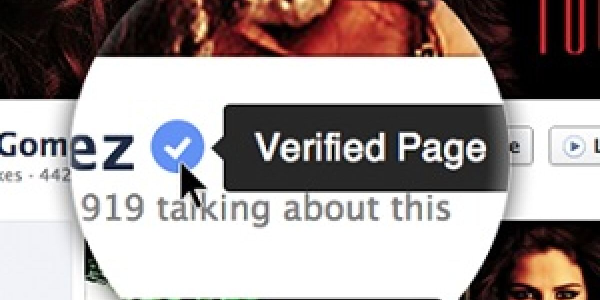 Verified Pages bei Facebook