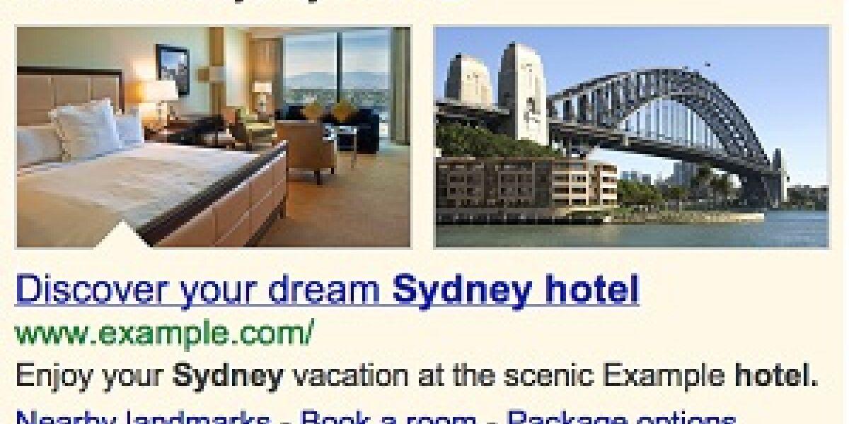Googles Search-Ads bekommen Bilder