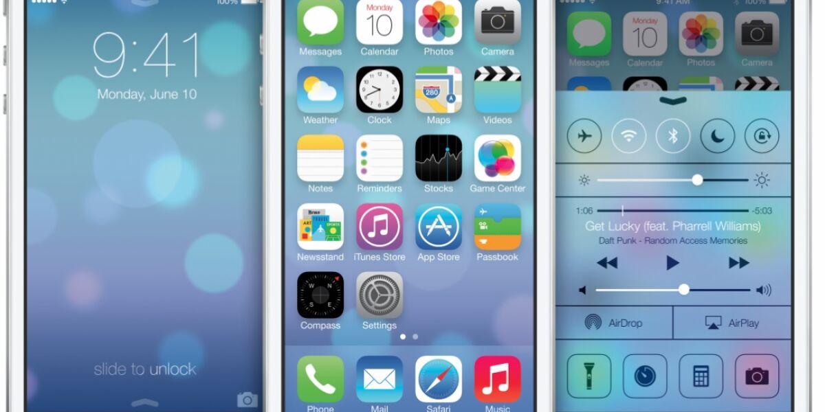 Apple bringt iOS 7