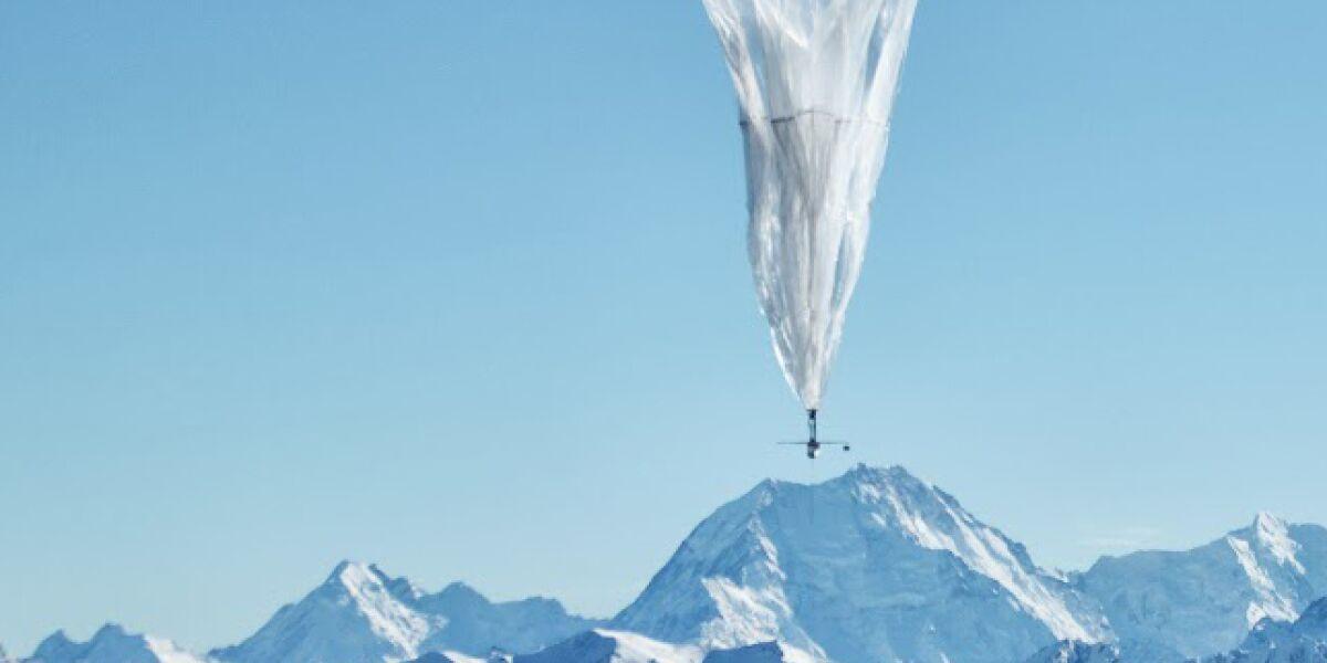 Google testet Internetzugang via Ballone