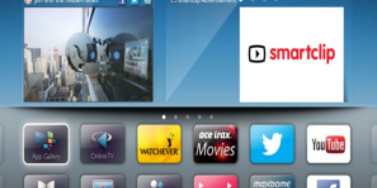 Smartclip übernimmt globale Vermarktung für Smart-TV-Portal von Philips