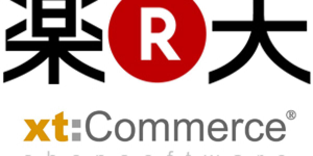 Rakuten kooperiert mit xt:Commerce