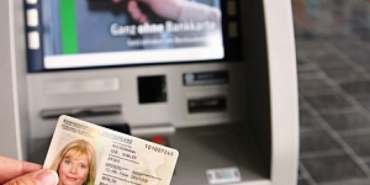 Geldautomat für den nPersonalausweis