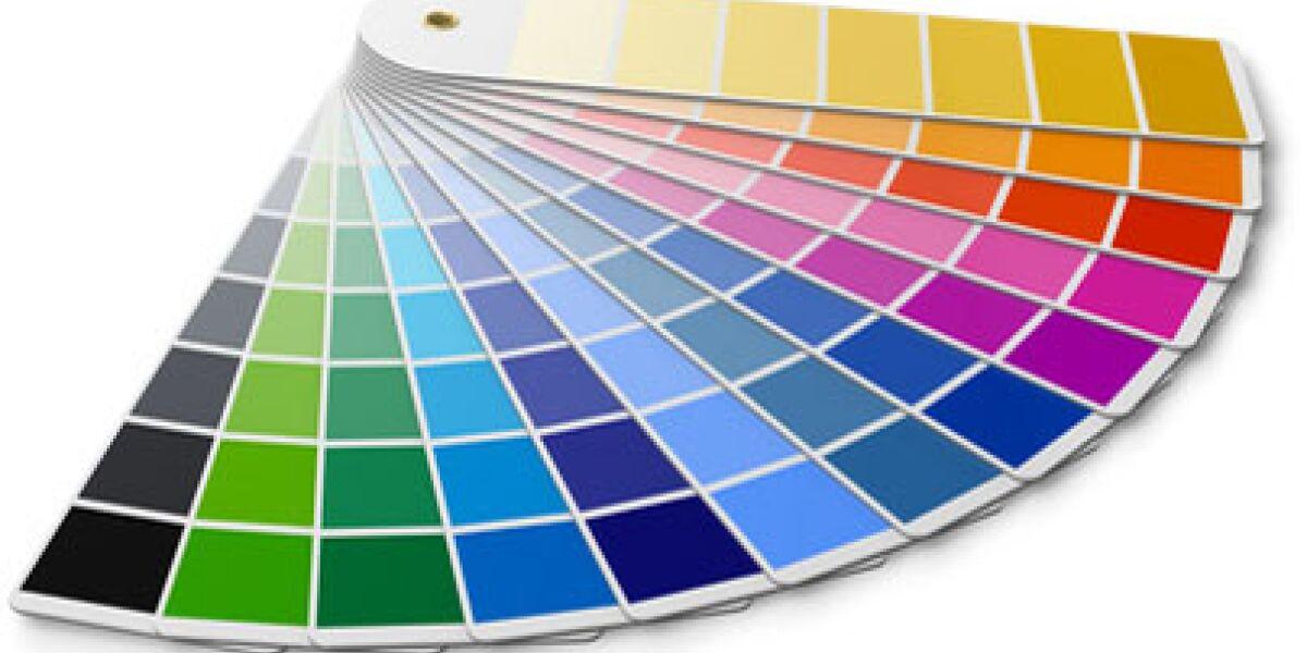 Farberkennung für den Online-Shop