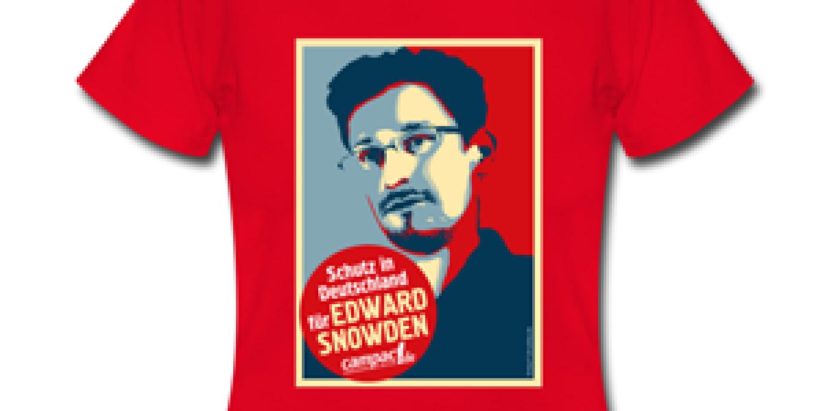 Snowden-Shirt Bestseller bei Spreadshirt