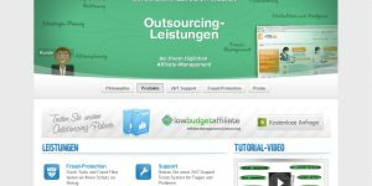 Neuer Dienstleister für Affiliate Marketing