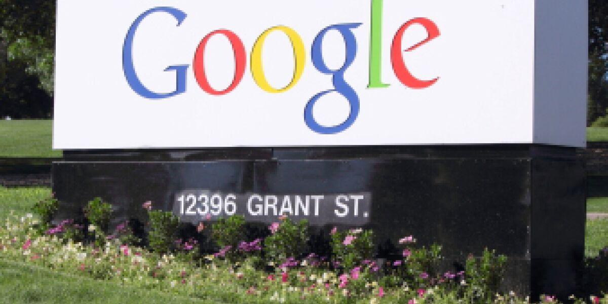 Google verbessert Umsatz und Gewinn