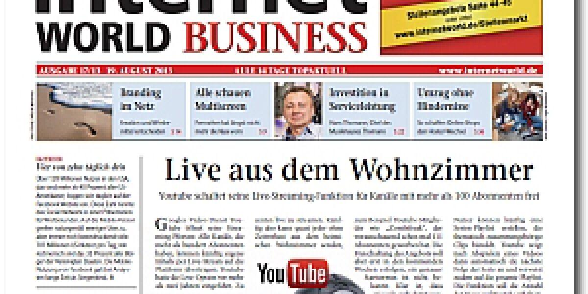INTERNET WORLD Business 17/2013