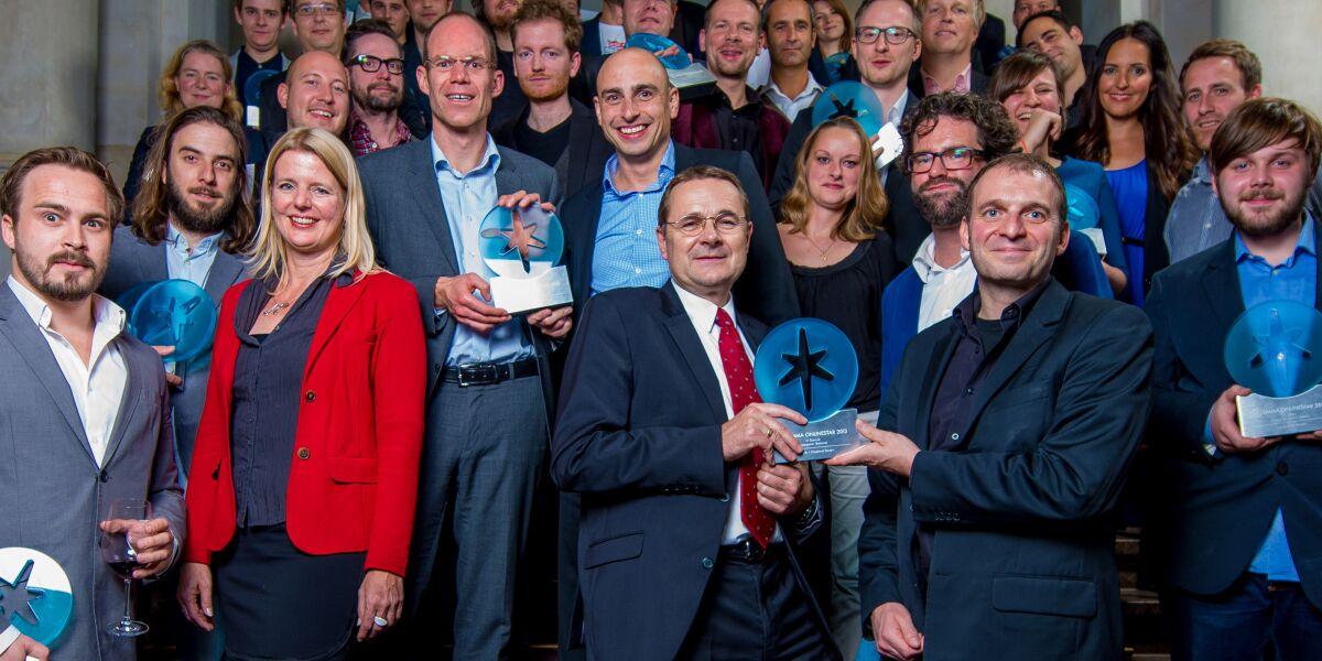 Die Sieger des DMMA OnlineStar 2013