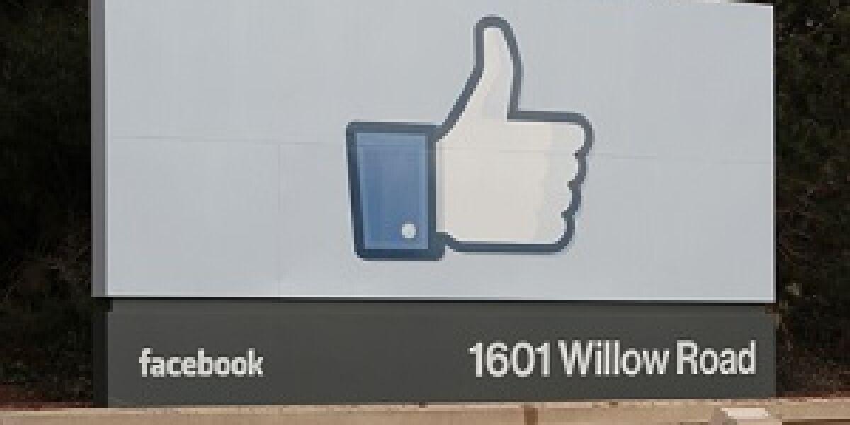 Marktwert von Facebook