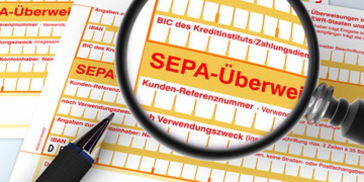 Einführung von SEPA