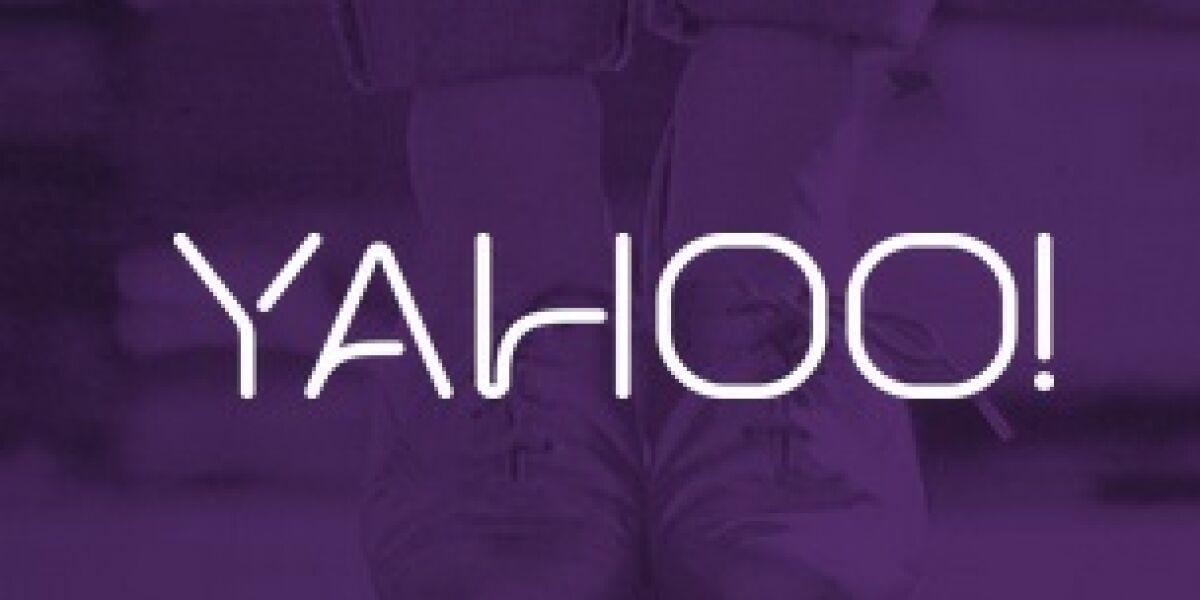Redesign und Ads bei Yahoo