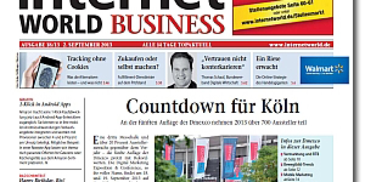 INTERNET WORLD Business 18/2013