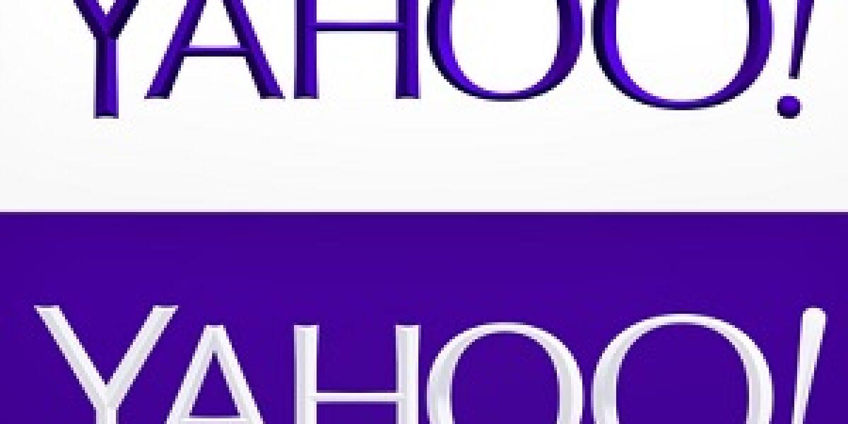 Yahoo enthüllt sein neues Logo