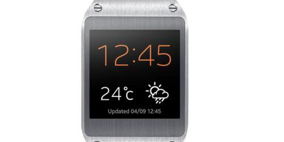 Samsung präsentiert Smartwatch Galaxy Gear zur IFA