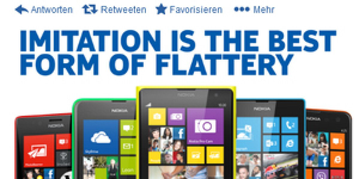 Nokia teilt gegen Apple aus
