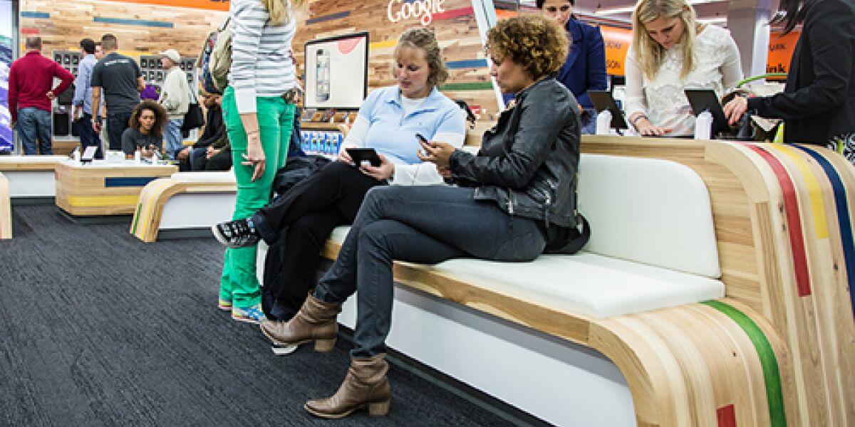 Google eröffnet Shop-in-Shop in Hamburg