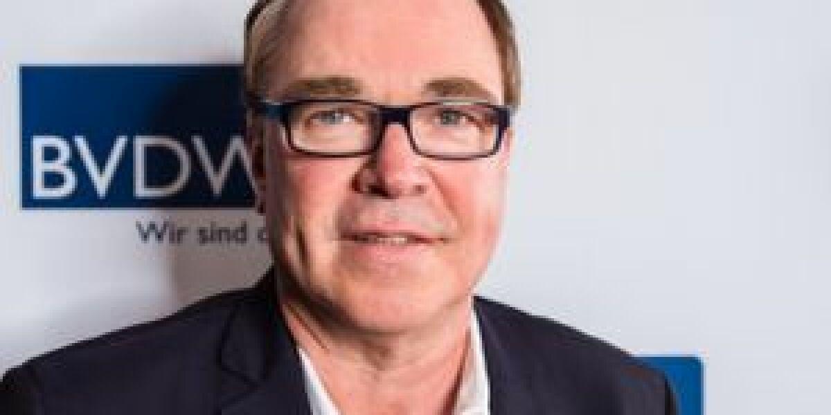 Erster dmexco-Auftritt von BVDW-Präsident Ehrlich