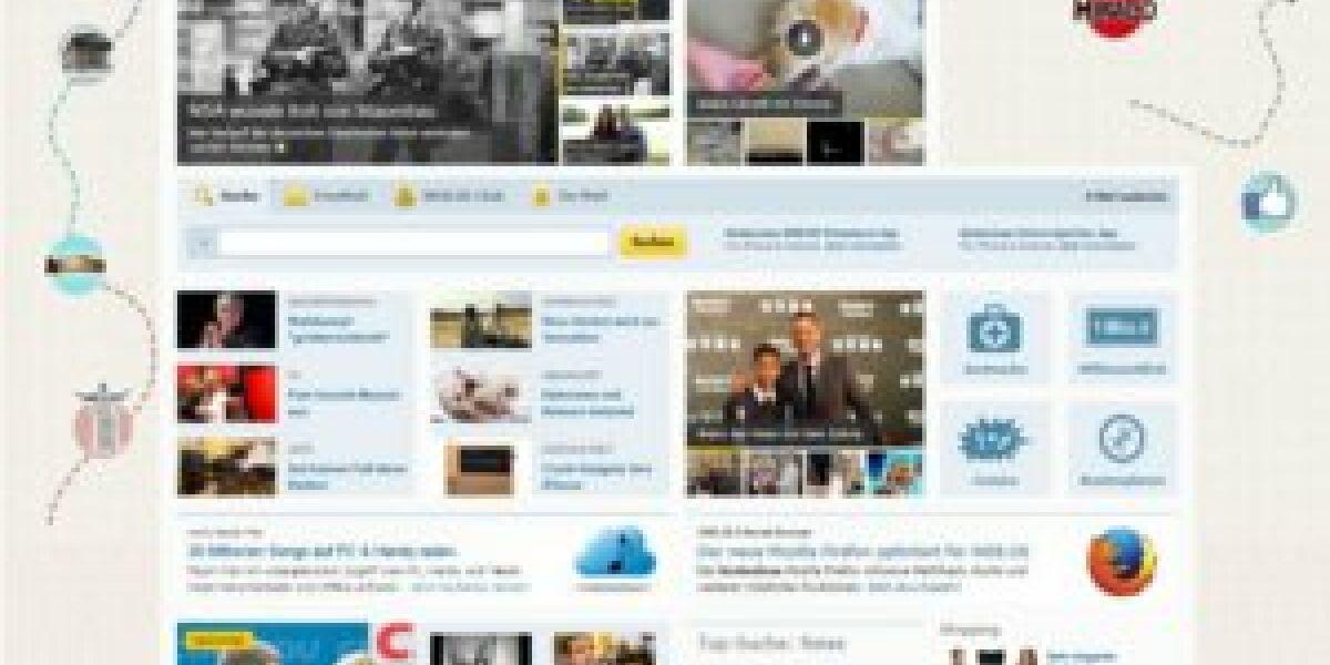 Web.de launcht neue Startseite