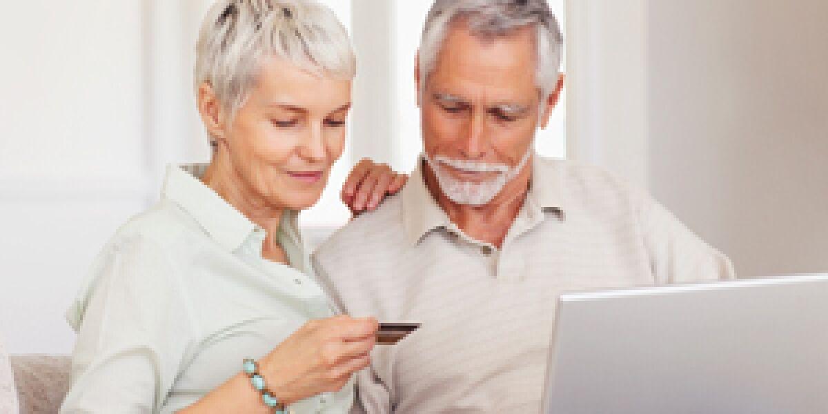 Senioren erobern den E-Commerce