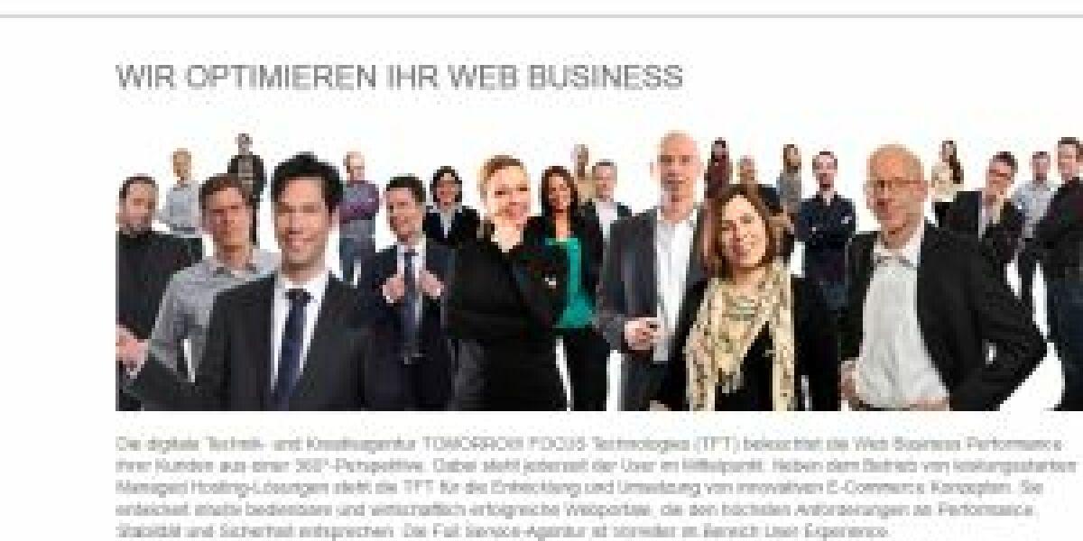 Tomorrow Focus verkauft seine Digitalagentur TFT