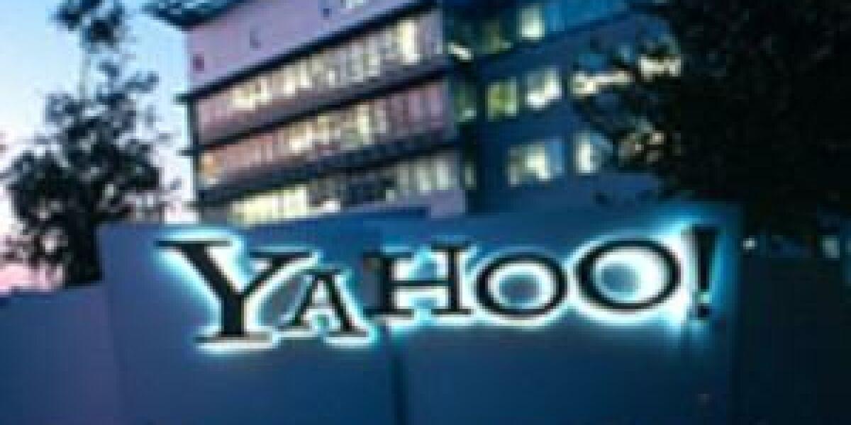 Umsatzrückgang bei Yahoo