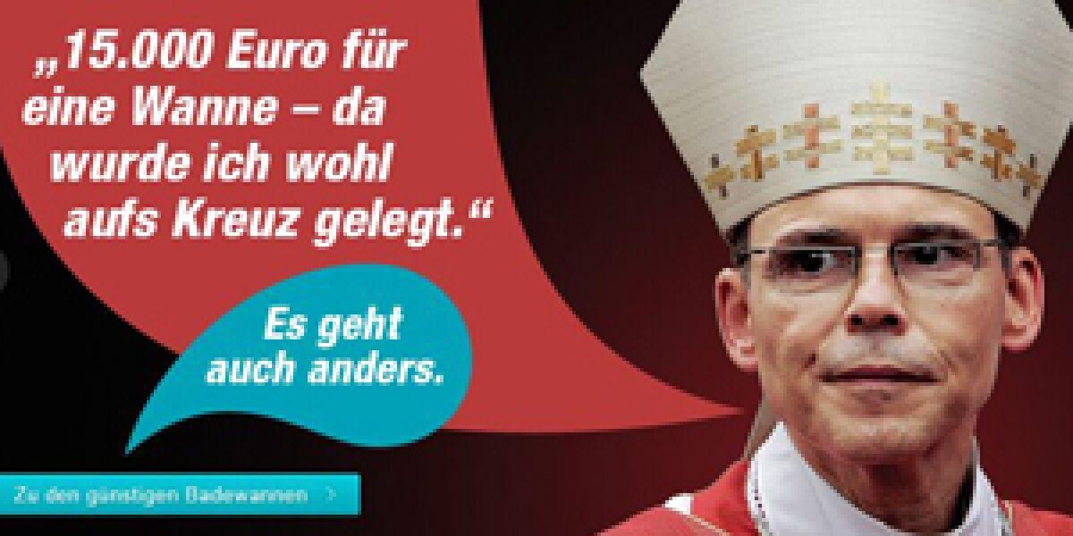 Reuter-Anzeige für Designer-Badewannen