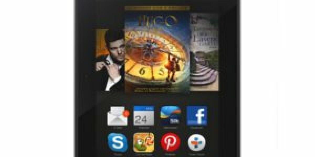 Amazon bringt Kindle Fire HDX auf den Markt
