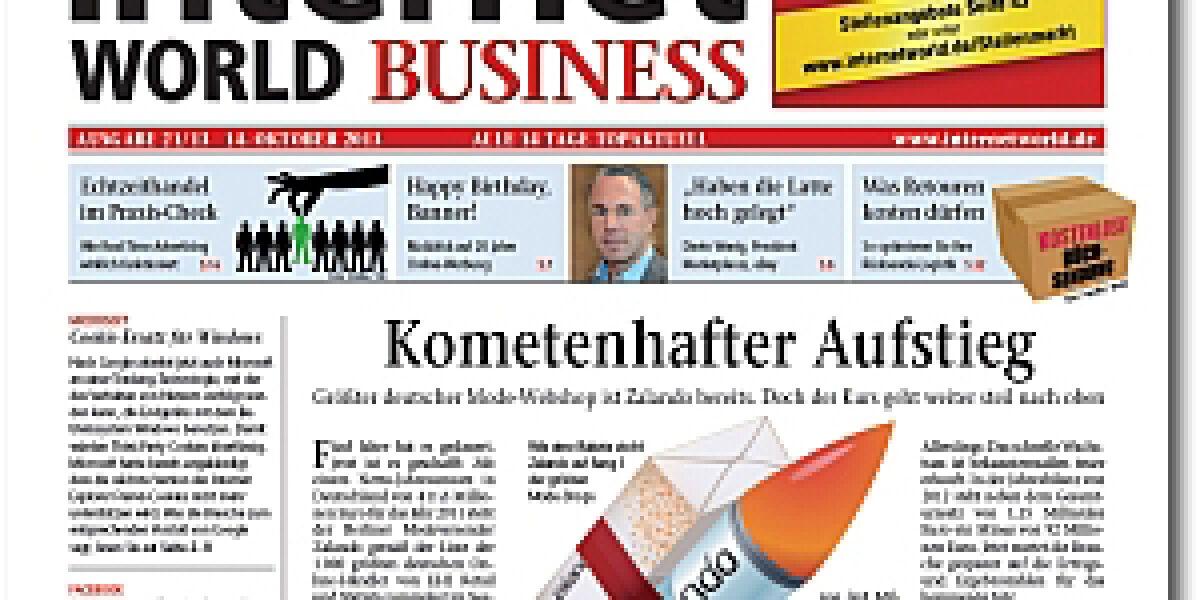 Internet World Business Ausgabe 21