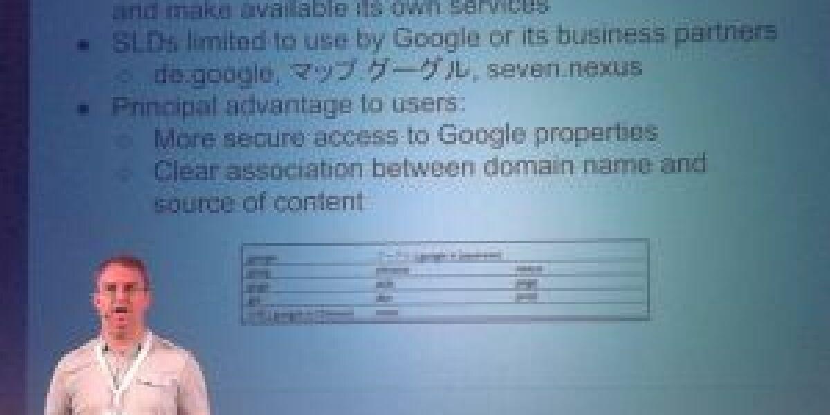 Googles Strategie für die neuen generischen Top Level Domains