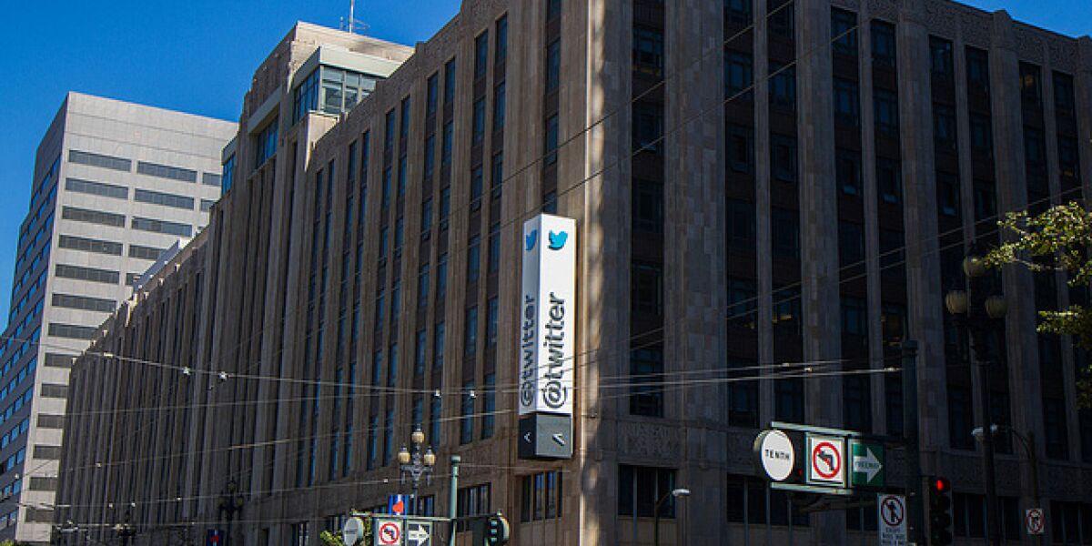 Twitter-Zentrale in San Francisco