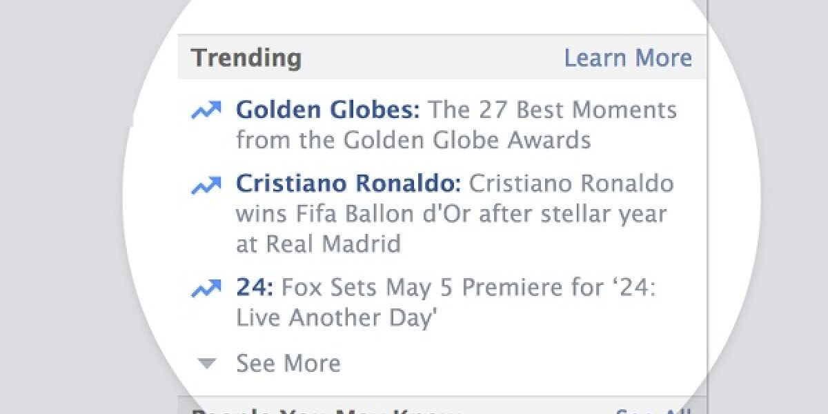 Trend-Topics bei Facebook