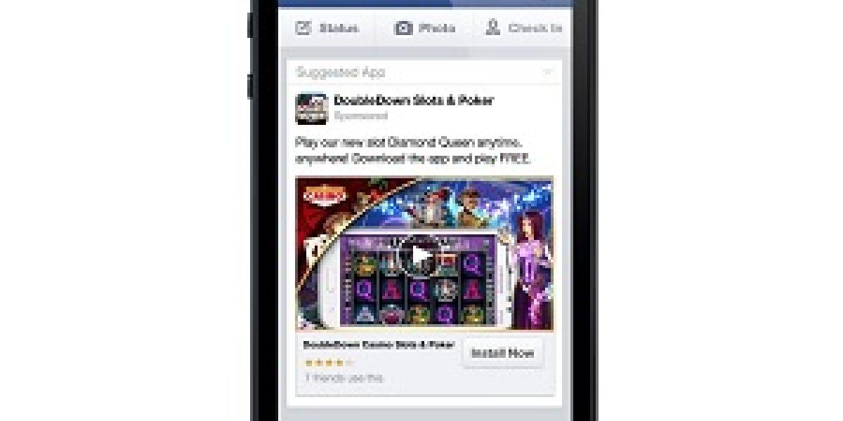 Facebook testet Ads in mobilen Apps